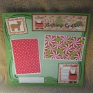 """""""Baking Cookies bl""""-Premade Scrapbook Page 12x12"""