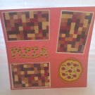 """Pizza""-Premade Scrapbook Page 12x12"