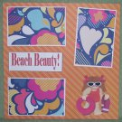 """Beach Beauty 2""-Premade Scrapbook Page 12x12"