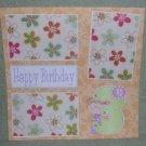 """3rd Birthday Girl""-Premade Scrapbook Page 12x12"