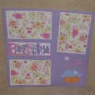 """Birthday Girl""-Premade Scrapbook Page 12x12"