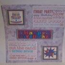 """Happy Birthday blc""-Premade Scrapbook Page 12x12"