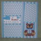 """Bear Hugs Boy""-Premade Scrapbook Page 12x12"