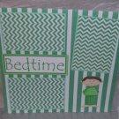 """Bedtime Boy""-Premade Scrapbook Page 12x12"