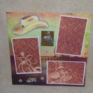 """""""Cowboy""""-Premade Scrapbook Page 12x12"""