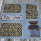 """Bad Boy""-Premade Scrapbook Page 12x12"