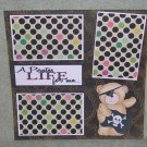 """""""A Pirate's Life For Me""""-Premade Scrapbook Page 12x12"""