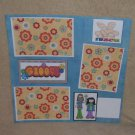 """Groovy""-Premade Scrapbook Page 12x12"