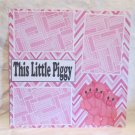 """This Little Piggy sc""-Premade Scrapbook Page 12x12"