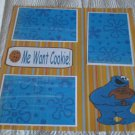"""""""Me Want Cookie ss b""""-Premade Scrapbook Page 12x12"""