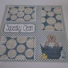 """Squeaky Clean a""-Premade Scrapbook Page 12x12"