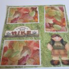 """Nature Hike Boy""-Premade Scrapbook Page 12x12"