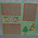 """""""Christmas Is For Kids 2""""-Premade Scrapbook Page 12x12"""