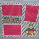 """Christmas Is For Kids Son""-Premade Scrapbook Page 12x12"