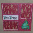 """""""Decorating The Tree 1a""""-Premade Scrapbook Page 12x12"""