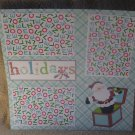 """""""Holidays nw""""-Premade Scrapbook Page 12x12"""