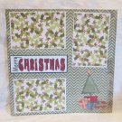 """Merry Christmas Presents""-Premade Scrapbook Page 12x12"