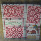"""Merry Christmas Santa in Chimney""-Premade Scrapbook Page 12x12"