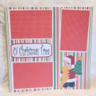 """Oh Christmas Tree""-Premade Scrapbook Page 12x12"