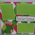 """""""Purrfect Christmas""""-Premade Scrapbook Page 12x12"""