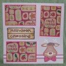 """""""Reindeer Crossing 2""""-Premade Scrapbook Page 12x12"""
