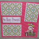 """So Many Presents js""-Premade Scrapbook Page 12x12"