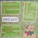 """""""Where's Santa? 2""""-Premade Scrapbook Page 12x12"""