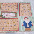 """Christmas 2014""-Premade Scrapbook Page 12x12"