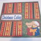 """Christmas Cuties""-Premade Scrapbook Page 12x12"