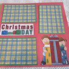 """Christmas Day 2""-Premade Scrapbook Page 12x12"