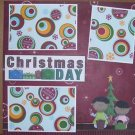 """Christmas Day""-Premade Scrapbook Page 12x12"