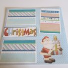 """Christmas Presents nw""-Premade Scrapbook Page 12x12"