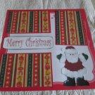 """Merry Christmas Santa""-Premade Scrapbook Page 12x12"