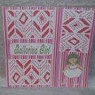 """Ballerina Girl a""-Premade Scrapbook Page 12x12"
