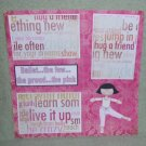 """Ballet The Few The Proud""-Premade Scrapbook Page 12x12"