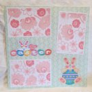 """""""Easter Bunny""""-Premade Scrapbook Page 12x12"""