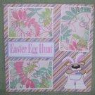 """""""Easter Egg Hunt""""-Premade Scrapbook Page 12x12"""