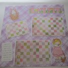 """Easter Girl mme""-Premade Scrapbook Page 12x12"