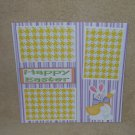 """Happy Easter Fat Bunny""-Premade Scrapbook Page 12x12"