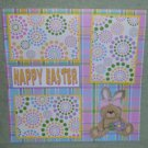 """Happy Easter Girl cs""-Premade Scrapbook Page 12x12"