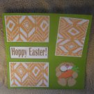 """Hoppy Easter Boy a""-Premade Scrapbook Page 12x12"