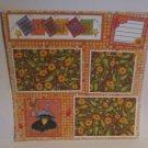 """Autumn blc""-Premade Scrapbook Page 12x12"