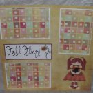 """Fall Fling""-Premade Scrapbook Page 12x12"