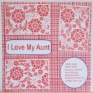 """I Love My Aunt c""-Premade Scrapbook Page 12x12"