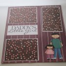 """""""Daddy's Little Girl""""-Premade Scrapbook Page 12x12"""