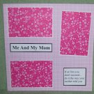 """""""Me and My Mom""""-Premade Scrapbook Page 12x12"""
