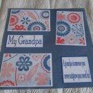 """My Grandpa c""-Premade Scrapbook Page 12x12"