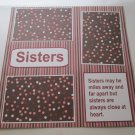 """Sisters 2""-Premade Scrapbook Page 12x12"