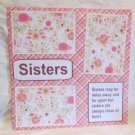 """Sisters a""-Premade Scrapbook Page 12x12"