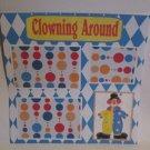 """Clowning Around c1""-Premade Scrapbook Page 12x12"